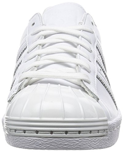 80's Toe Superstar Adidas Metal Blanc Baskets Mode Femme wtAqTW56q