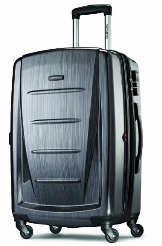 (Samsonite Luggage Checked-Large, Charcoal)