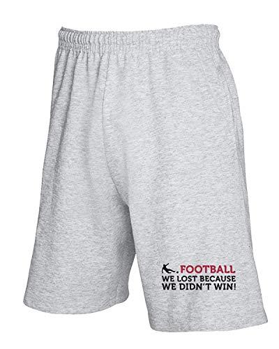 Grigio shirtshock We Pantaloncini Wc0350 Tuta Football T Lost wtBqHFnaaS