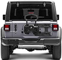 omotor Spare Tire Carrier Mounting Bracket and Hinge Reinforcement for Jeep Wrangler JL Tailgate Reinforcement Kits