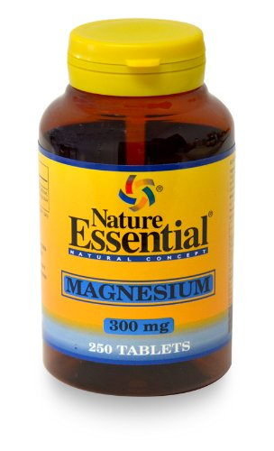 Magnesio 300MG 250 Tabletas. Nature Essential.