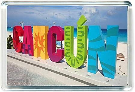 GCT I239 Canc/ún Jumbo Calamita da Frigo Messico Mexico Travel Fridge Magnet