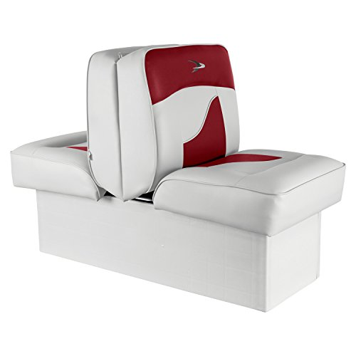 (Wise 8WD1033-0032 Contemporary Series Lounge Seat, White/Red)
