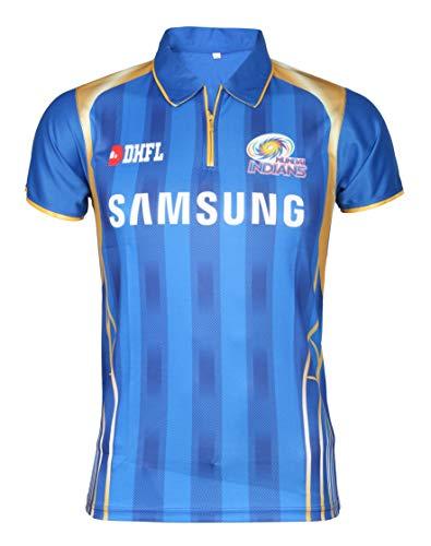 7a08dc608015 KD Cricket IPL Jersey Supporter Jersey T-Shirt 2018 MI