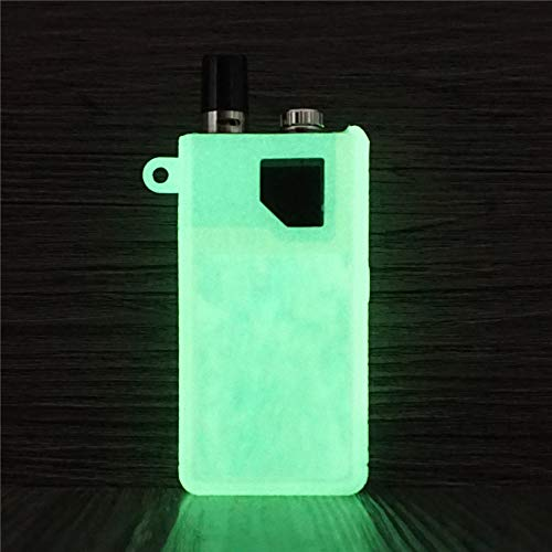 (DSC-Mart for Lost Vape Orion Silicone Case, Protective Cover Sleeve Wrap Fits Lost Vape Orion DNA 40W POD Box Mod (Glow Light in The Dark) )