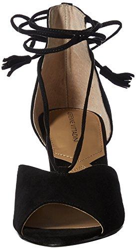 Adrienne Vittadini Chaussures Marcey Wedge Sandale Noir