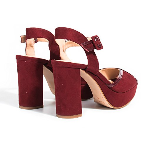 Parfois - Sandalias High Heel - Mujeres Burgundy