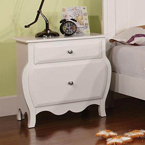 Roxana Cottage Style White Finish 6 Piece Full Size Youth Complete Bedroom Set by 247SHOPATHOME (Image #2)