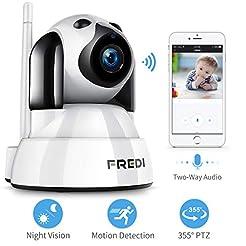 FREDI Baby Monitor,Pet Camera- Wireless ...