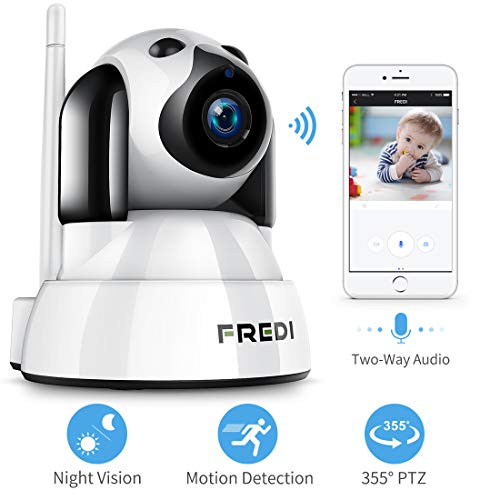 FREDI Baby Monitor,Pet Camera- Wireless Security Camera