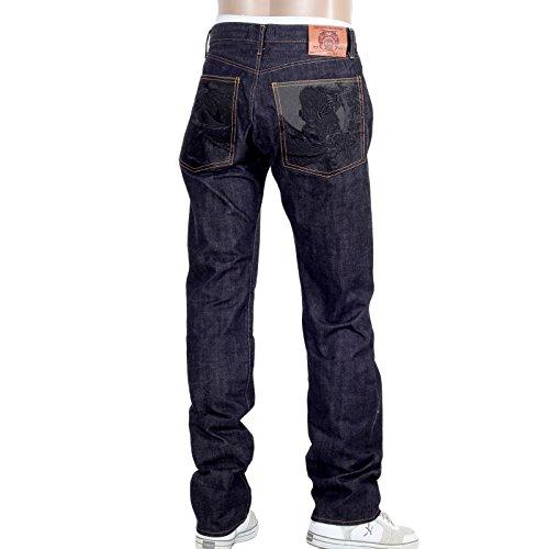 RMC Bushi 1011slim noir denim jeans rmc2755