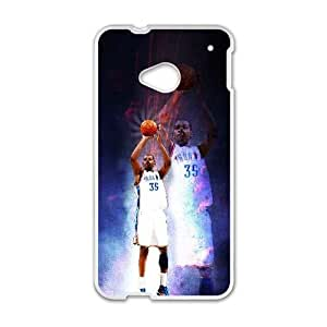 HTC One M7 Cell Phone Case White Russell Westbrook O6645707