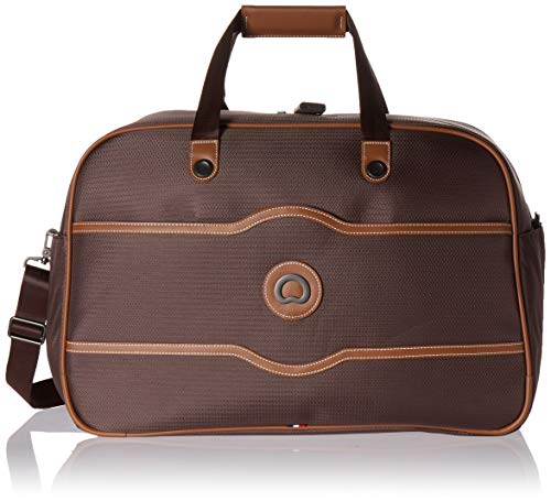 - DELSEY Paris Luggage Chatelet Soft Air Weekender Duffel, Chocolate, One Size