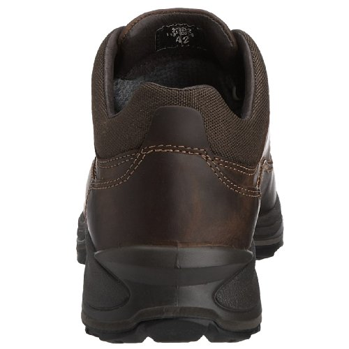 Grisport - Zapatillas de senderismo de cuero para hombre Marrón
