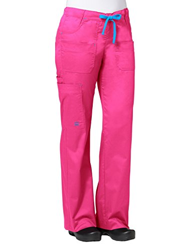Maevn 9202 Utility Cargo Pant Passion Pink/Pacific Blue XS ()