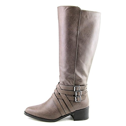 Pointed High MIA Boots Knee Toe Fashion Noralee Gray Womens qzzSXExa