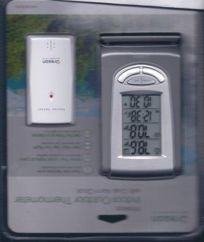 - Oregon Scientific Wireless Indoor/Outdoor Thermometer W/ Dual Alarm Clock
