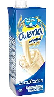 (2 Pack) Alpina Avena Oatmeal Smoothie Oat 32 fl oz large. Kosher