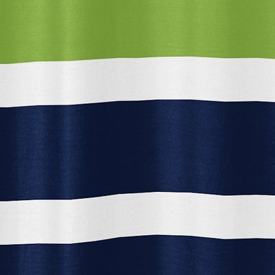Amazon com  Navy Blue  Lime Green and White Kids Bathroom Fabric Bath Stripes Shower Curtain  Home  amp  Kitchen. Amazon com  Navy Blue  Lime Green and White Kids Bathroom Fabric