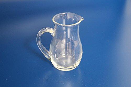 Jarra de cristal Mini para 0,2 litros Pit ergonómico para por ejemplo Leche condensada: Amazon.es: Hogar