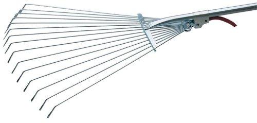 Draper 21862 190-570 mm-Spread Adjustable Lawn Rake Garden Tools Rakes Hand Tools Other Garden Tools