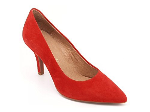 red Shoes padova Court Carmens red Women's TwCp0nqxa