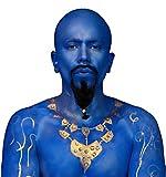 Mehron Blue Genie Costume Makeup Kit - Special