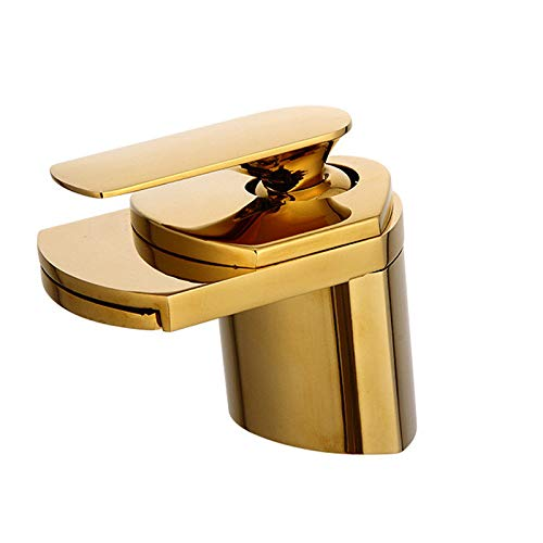 Delta Gold Waterfall Faucet Pull Down Gold Delta Faucet