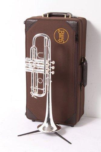 Bach Philadelphia Series Stradivarius C Trumpet Silver (Silver) by Bach