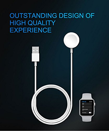 MEFEO Apple Watch Charger, iWatch Charger Charging Cable 6.6FT, Magnetic Wireless Charger Charging Cable Cord for Apple Watch 3/2 38mm 42mm [MFi Certified] (6.6ft/2.0m) by MEFEO (Image #3)