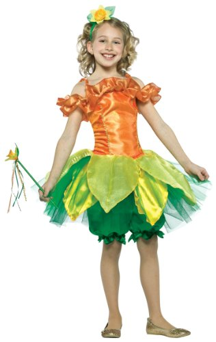 Girls Daffodil Costume - Child (Childrens Daffodil Costumes)