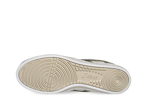 Asics Aaron calzado Blanco - off-white/light olive