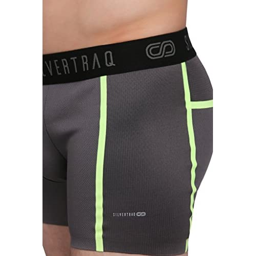 Quick-drying Trunks Boxer Spa Vacation Striped Nylon+Spandex Breathable Men/'s