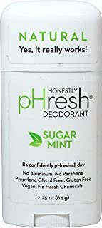 product image for pHresh 100% Natural Deodorant Stick Sugar Mint 2.25 Ounces by Sparklehearts by Sparklehearts
