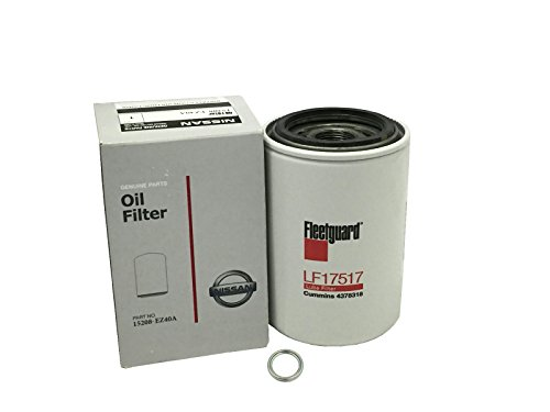 Genuine Nissan OEM Oil FIlter 15208-EZ40A Titan XD 5.0 V8 Cummins - Titan Filter Oil
