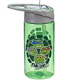 Investment Vandor 38175 Teenage Mutant Ninja Turtles Tritan Water Bottle, 14-Ounce, Multicolored deliver