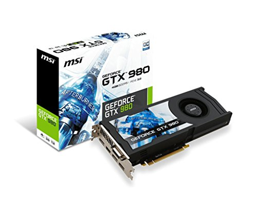 Photo - MSI Computer GeForce 4GB GDDR5 DVI/HDMI/3DisplayPorts PCI-Express Video Graphic Card GTX 980 4GD5 OCV1