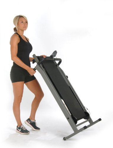 Stamina Inmotion Manual Treadmill (Pewter Grey, Black) by Stamina (Image #7)