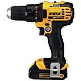 """Dewalt DCD780C2R Factory-Reconditioned 20V MAX Cordless Lithium-Ion Compact Drill Driver Kit, 1/2"""""""