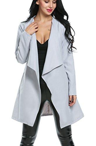Wool Belt Tie Coat Jacket - 7