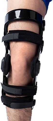 Orthomen Knee Brace for ACL/Ligament/Sports Injuries, Mild Osteoarthritis(OA) & for Preventive Protection from Knee Joint Pain/Degeneration (S/Right)