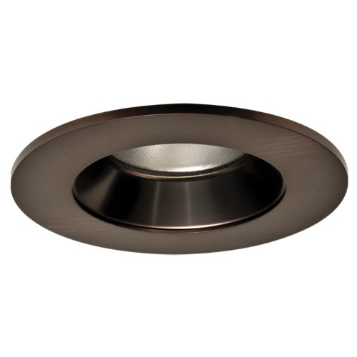 HALO Recessed TL402TBZS 4-Inch LED Trim Shower Rated Solite Regressed Lens with Reflector, Tuscan Bronze