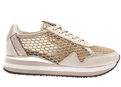 BEIGE 25502 CRIME CALZATURE SNEAKERS P17 DONNA 31 LONDON qUq7wvF1S