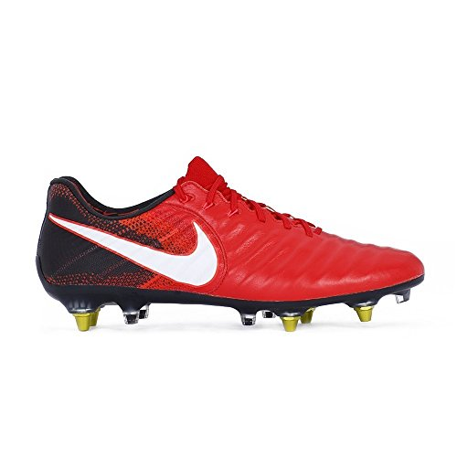 NIKE Men's Tiempo Legend VII Anti-Clog (SG-Pro) Soccer Cleat (Sz. 9) Red (Ground Soft)