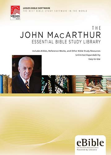 John MacArthur Essential Bible Study Library by Brand: Thomas Nelson