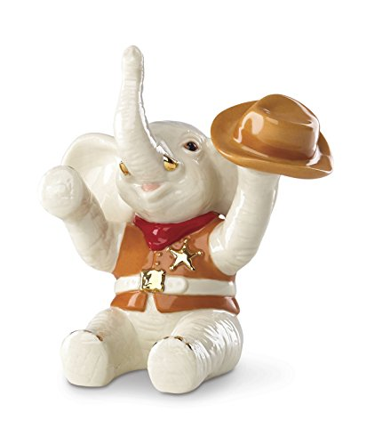 Lenox Classics Cowboy Up! Elephant