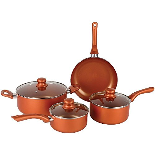 Brentwood Bps-107c 7pc Ceramic Cookware Cpr