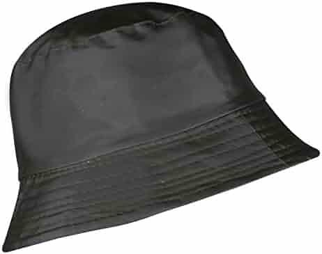 2b9118cbd5cbb YJDS Women s Rain Hats Bucket Waterproof Rain Hat Wide Brim Bucket Hat Rain  Cap