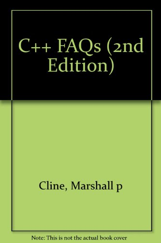 C++ FAQs (2nd Edition) by TBS