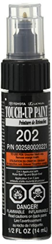 (Genuine Toyota 00258-00202-21 Black Onyx Touch-Up Paint Pen (1/2 fl oz, 14 ml))